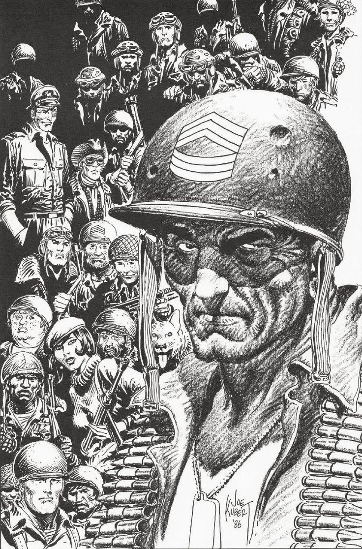 Ensley F. Guffey on... War Comics