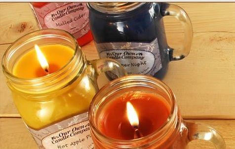 The Gecko Shack - Milk & Honey mini mason jar... Soy blend candle - Smells amazing!!