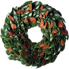 Fresh Original Magnolia Christmas Wreath-Comes in Four Different Sizes www.wellappointedhouse.com