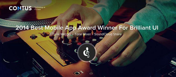 Contus - Best Mobile App Award Winner for Brilliant UI 2014