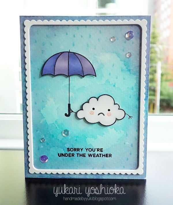"""""""Sorry You're Under the Weather"""" by Handmade by Yuki 