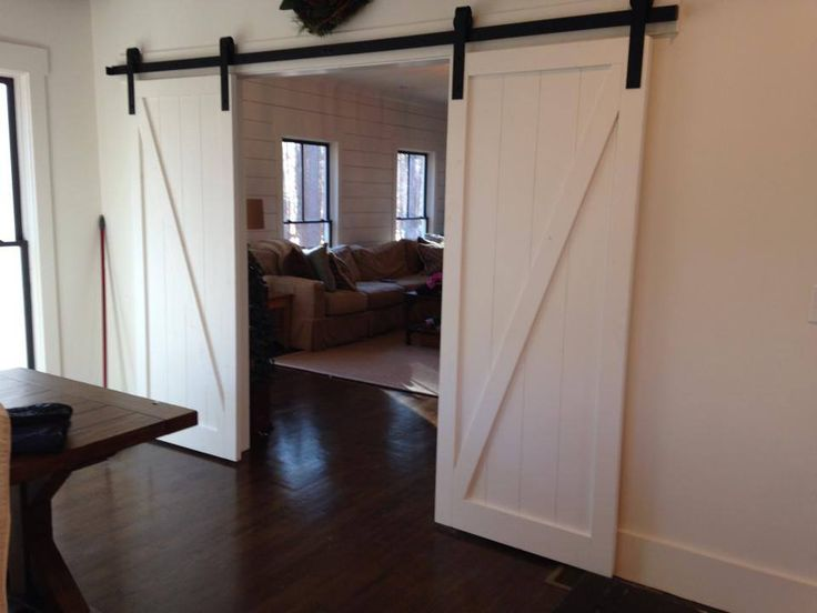 white z brace sliding barn doors made just for stacy in roswell ga