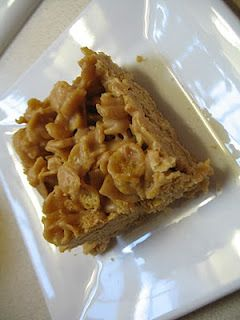 Peanut Butter Corn Flake Bars- I had these in elementary school.  They put rice krispie treats to shame.