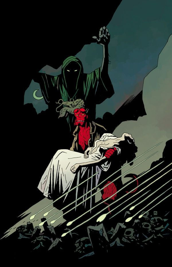 Mike Mignola at Secret Headquarters on Friday
