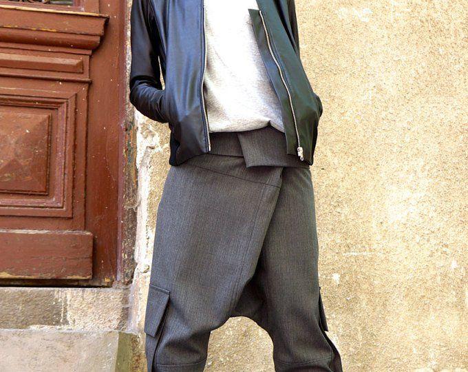 Weichem grauen hochwertigem Kasha Stoff ärmellosen Mantel