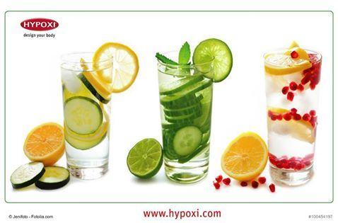 HYPOXI-Trinktipp: Auf Abwechslung setzen!  https://www.facebook.com/HYPOXI.design.your.body/photos/a.126891930690750.14617.126885807358029/1340787455967852/?type=3&theater  #hypoxi #trinken #wasser #zitrone #orangen #kräuter #ingwer #ernährung #erfrischung #durst #gesund