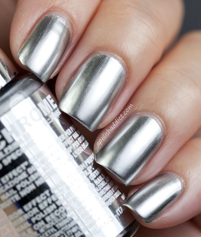29 best layla mirror effect images on pinterest nail for Mirror nail polish