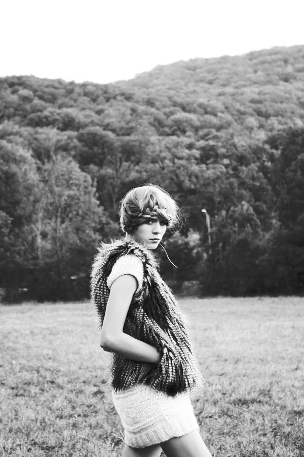 photographed by reka liziczai hair by mazsola szabo model: cara @ omg  clothes from raindeer