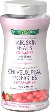 #AmazonCA #AmazonCanada: $6.99: $6.99 Nature's Bounty Hair Skin and Nails Gummies with Biotin 80 Count http://www.lavahotdeals.com/ca/cheap/6-99-natures-bounty-hair-skin-nails-gummies/93010