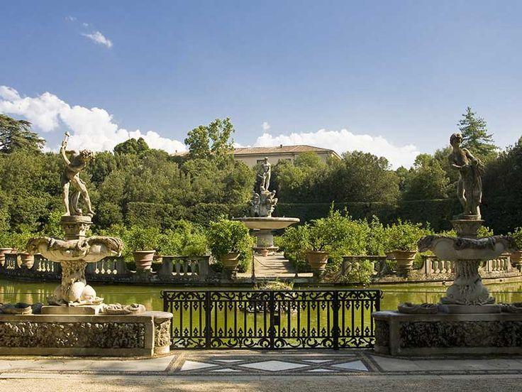 Florence [Italie] Jardin de Boboli