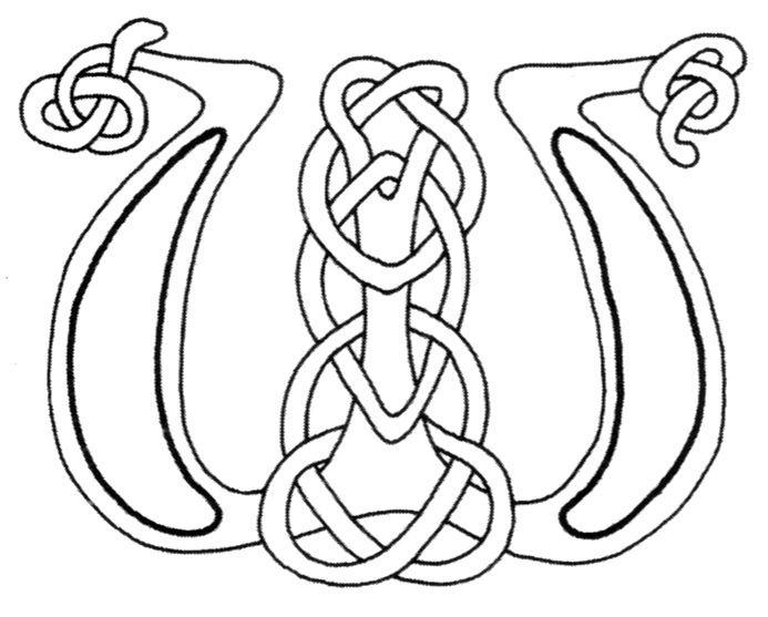 29 best color pages celtic images on Pinterest | Alphabet letters ...