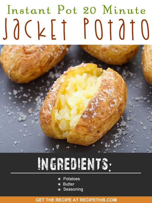 Welcome to my latest Instant Pot recipe and this recipe is for Instant Pot 20 minute jacket potatoes. With a delicious crispy skin and ready to be loaded with a topping of your choice this is perfect for lunches and dinners with your kids. Like most people I absolutely love jacket potatoes or baked potatoes as some people call them. Its not just about the potato though is it? As for me what you put on top is just as important. My favourite topping of choice is bolognese followed by loads of…