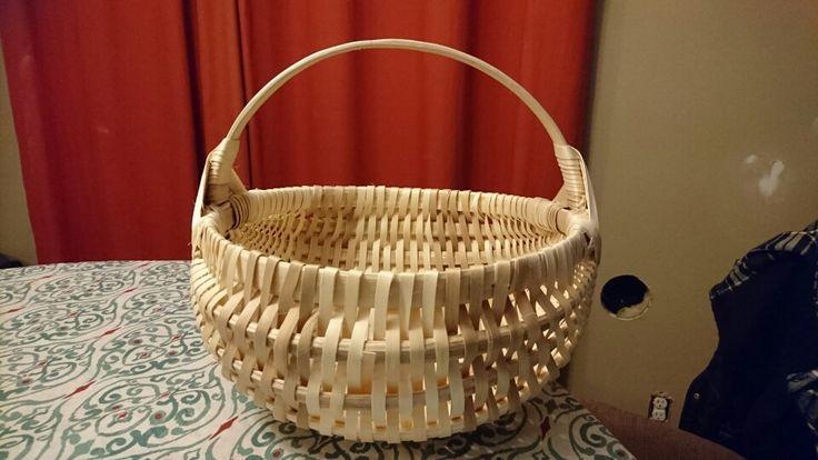 Harvesting basket made by Stephen jerome