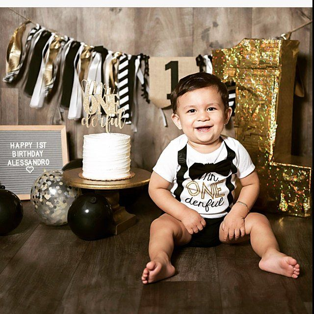 Mr Onederful Family Shirts Black And Gold Golden Birthday Ets
