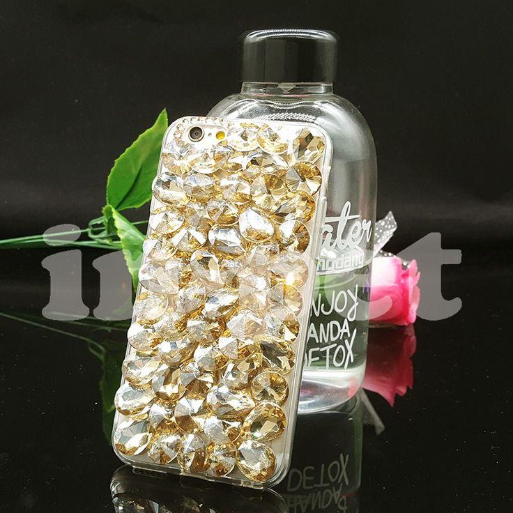 nice Luxury 3D Crystal Rhinestone Bling Case for LG G6 G5 G4 G3 X Power X Screen Diamond Cover Mobile Phone Cases