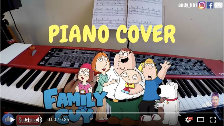 Family Guy TV Theme | Piano Cover