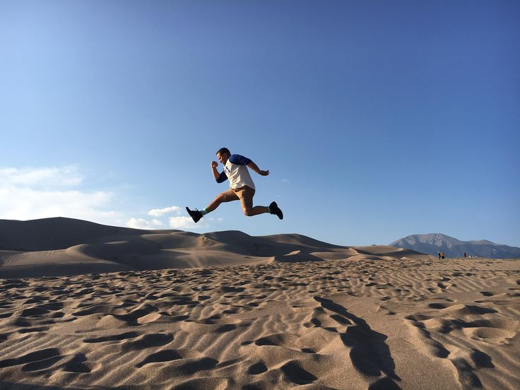 Biggest sandpit in the US! Sand Dunes National Park Colorado #hiking #camping #outdoors #nature #travel #backpacking #adventure #marmot #outdoor #mountains #photography