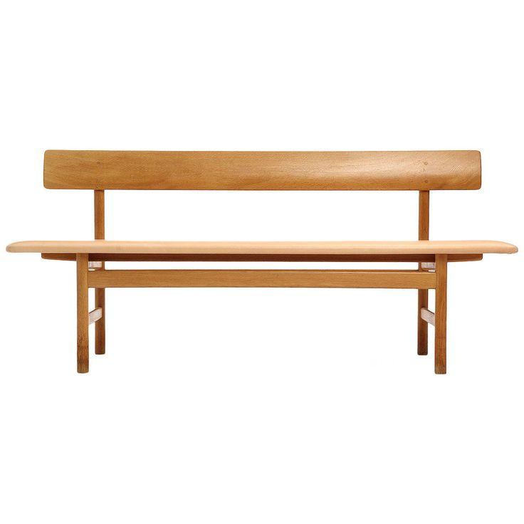 Shaker Bench by Borge Mogensen