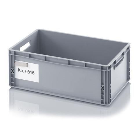 NORAH-plastic-producten-plastic-bakken-plastic-pallets-plastic-rekken-en-plastic-palletboxen-koop-je-bij-de-plastiek-specialist Etikethouders, zelfklevende etikethouders voor opslagbakken, palletboxen en containers | Kunststof bakken, palletboxen en plastic pallets | NORAH PLASTIC
