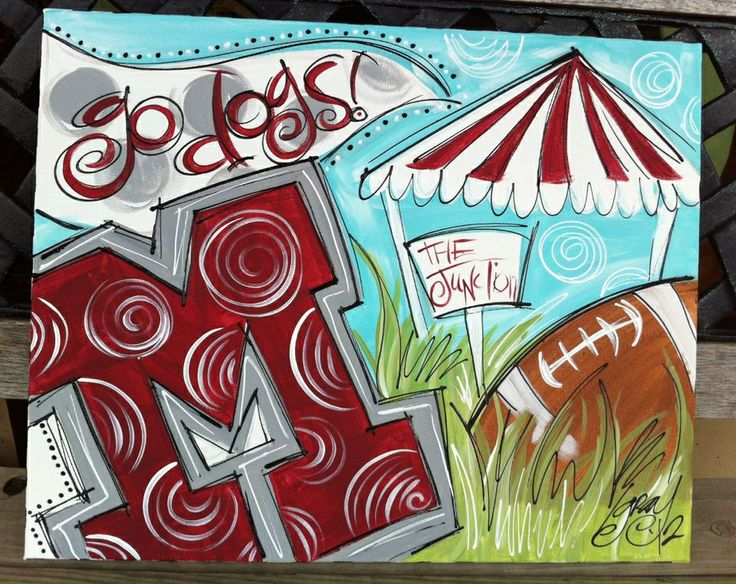Sports Collage- It should say Go Dawgs!