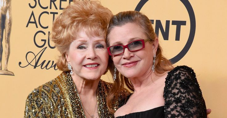 12/28/2016. Debbie Reynolds died at Cedars-Sinai Medical Center, Los Angeles, after reportedly suffering a stroke at her son's home. She was 84. Reynolds was hospitalized only a day after the death of her daughter, actress and author Carrie Fisher of Star Wars fame. Fisher, 60, suffered a heart attack near the end of a transatlantic flight from London to Los Angeles on December 23 and was treated at a nearby hospital, where she later died.