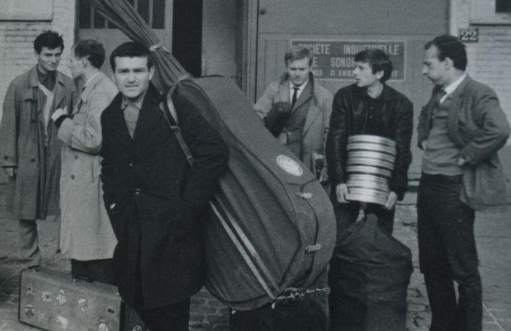Roman Polanski & Krzysztof Komeda, Paris 1961.