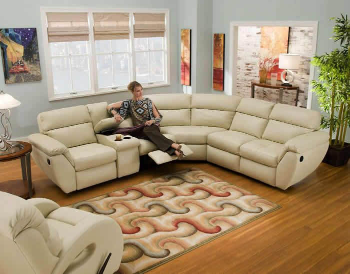 Living Room Design - Best Reclining Sectional Sofas Part II : best reclining sectionals - Sectionals, Sofas & Couches