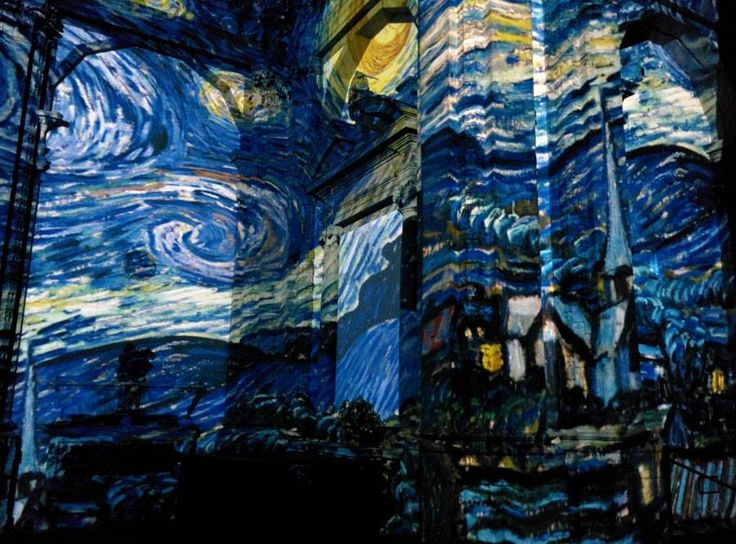 Van Gogh Alive exhibition in #Florence ph. Andrea Paoletti