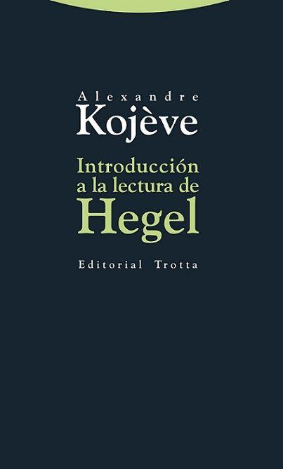 Leccións que Alexandre Kojève impartiu sobre a Fenomenoloxía do espírito durante os anos 1933-1939 na École Pratique des Hautes Études de París. Ofrecen un comentario completo, e en ocasións moi exhaustivo, das principais nocións fenomenolóxicas, ontolóxicas e históricas da mencionada obra de Hegel. O núcleo das mesmas articúlase fundamentalmente ao redor da loita polo recoñecemento, a constitución dunha cidadanía libre e autónoma, o «antropoteísmo» e a tese do final da filosofía e da…