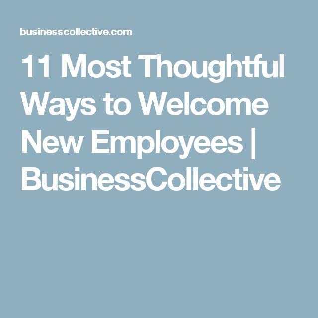25 Best Ideas About Welcome New Employee On Pinterest