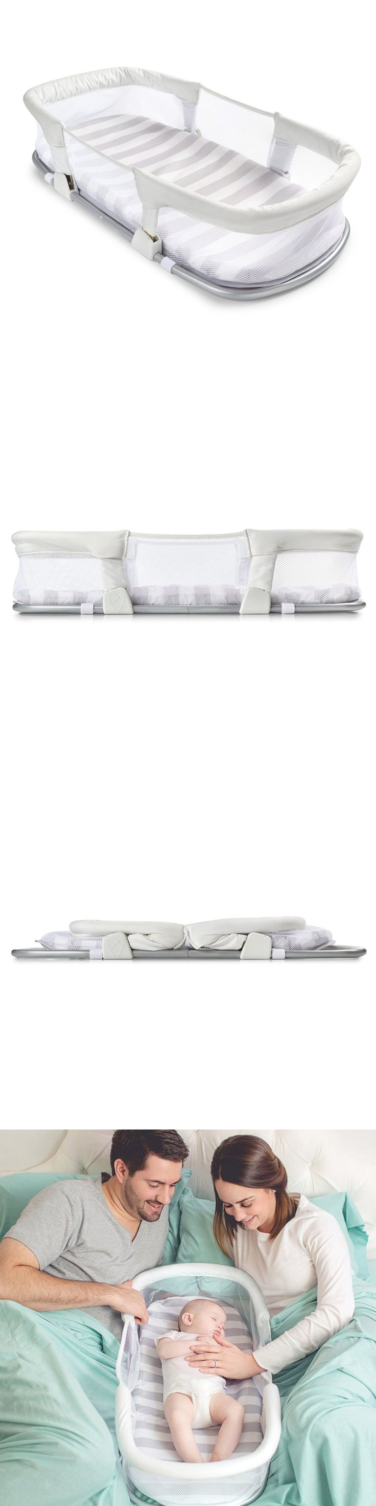 Baby Co-Sleepers 121152: Portable Baby Bassinet Newborn Infant Side Sleeping Mattress Bed Cradle Crib New -> BUY IT NOW ONLY: $42.67 on eBay!