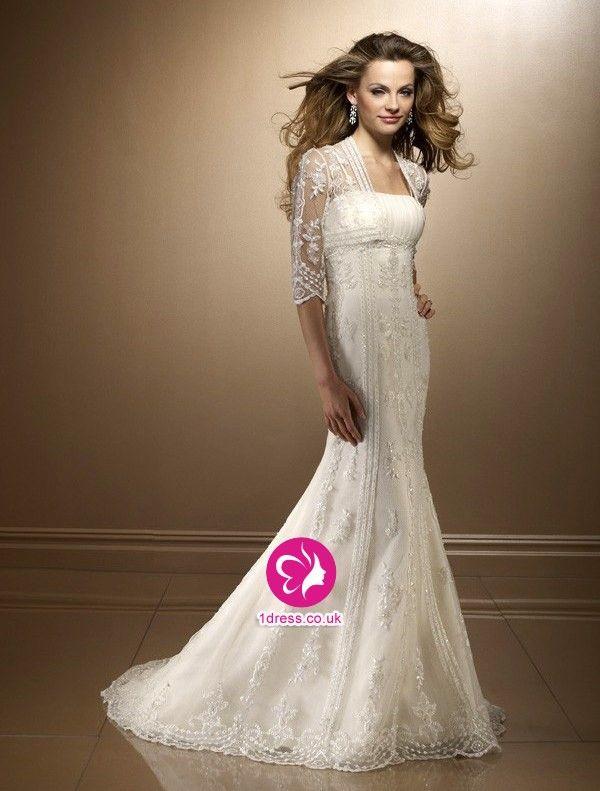 Bridal gowns for older brides over 40 wedding dresses for Wedding dresses women over 40