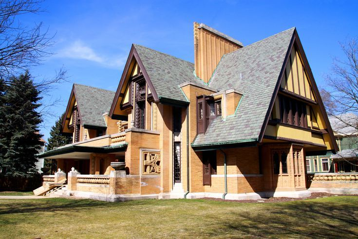 The House Frank Lloyd Wright Built -- and Hated.  Nathan G. Moore House, Oak Park.