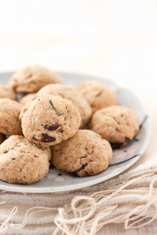 Cookies al cioccolato e caffè