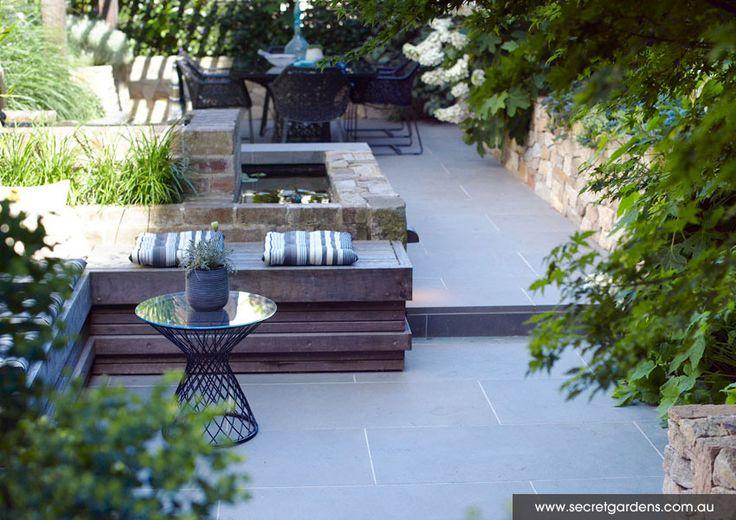 Courtyard Garden. Secret Gardens.