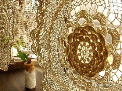 богемное винтажный крючком салфетки потертый французский шик окна кафе занавеска кружево кремовый