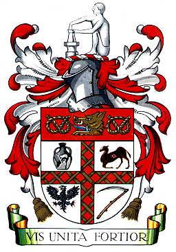 Coat of arms of STOKE ON TRENT (England). For the future