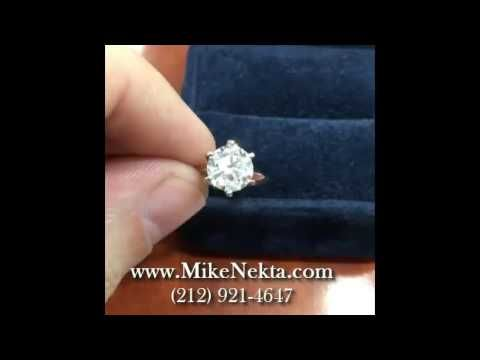 Engagement Ring Solitaire  Tiffany - YouTube