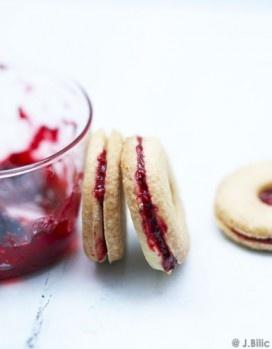 Sablée con marmelalta di fragole e lamponi