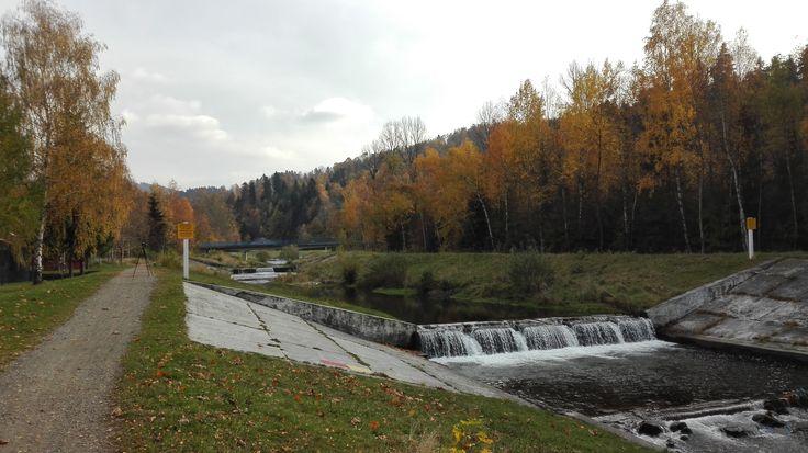 Jesienna Brenna #Brenna #Polska #Śląskie #góry #river #rzeka