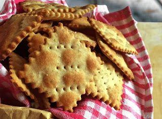 Denny Chef Blog: Crackers senza lievito alla segale con origano