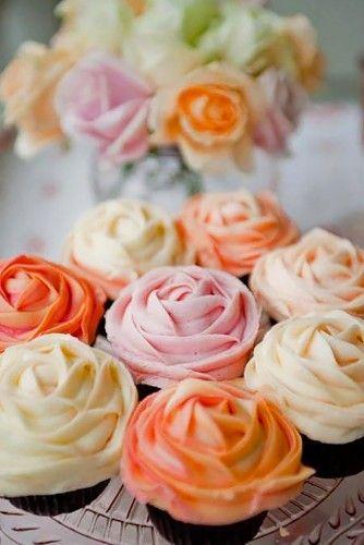 Çiçek Cupcake Fikirleri