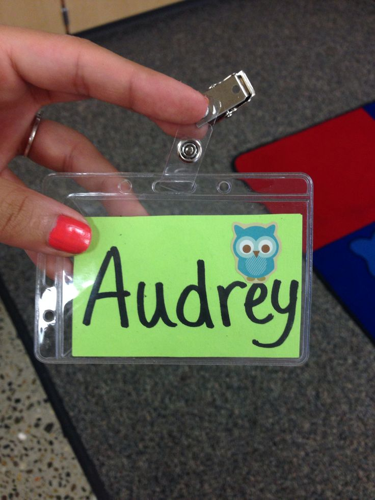 First day name tags (Walmart) My Classroom Pinterest