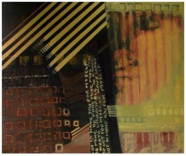 "Saatchi Art Artist Loredana Găină; Painting, ""Time Trace"" #art"