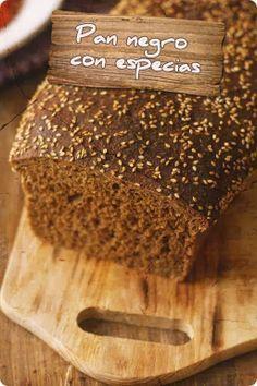 Lola en la cocina: Pan negro con especias (Estrenando nueva imagen)