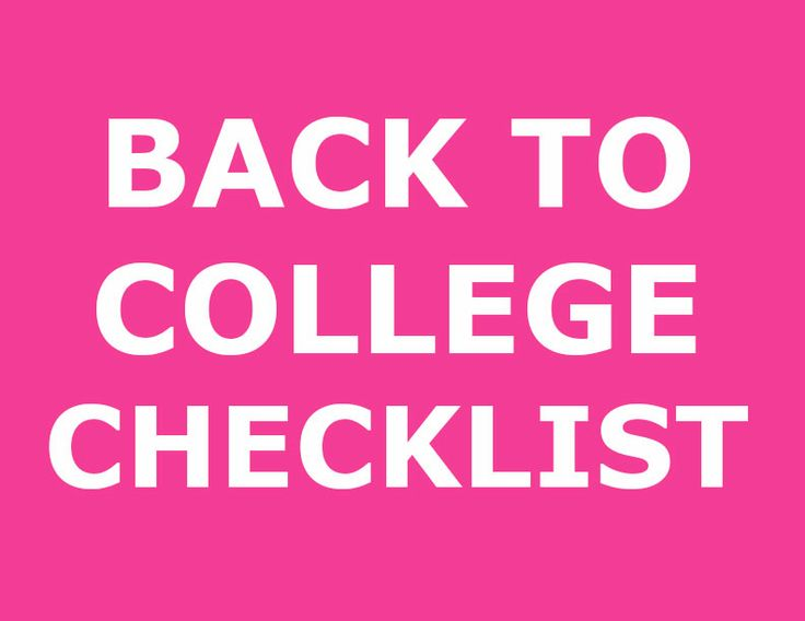 So you don't forget a thing - the complete college checklist from IKEA.