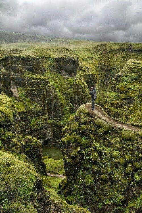 Canyon - Iceland