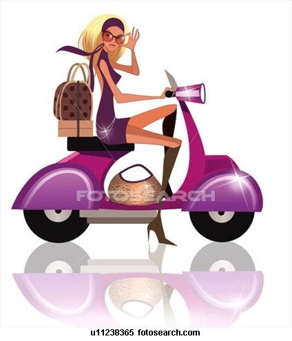 scooter girl images to buy