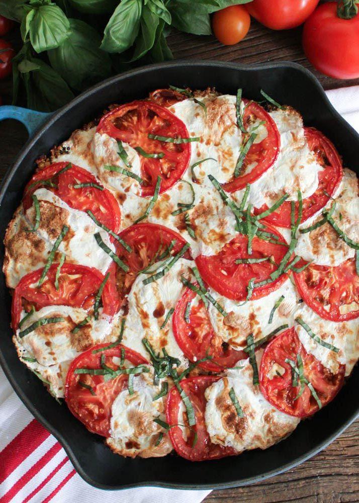 Browse these easy tomato recipes for summer | Caprese Quinoa Tomato Bake from 'Domesticate Me'