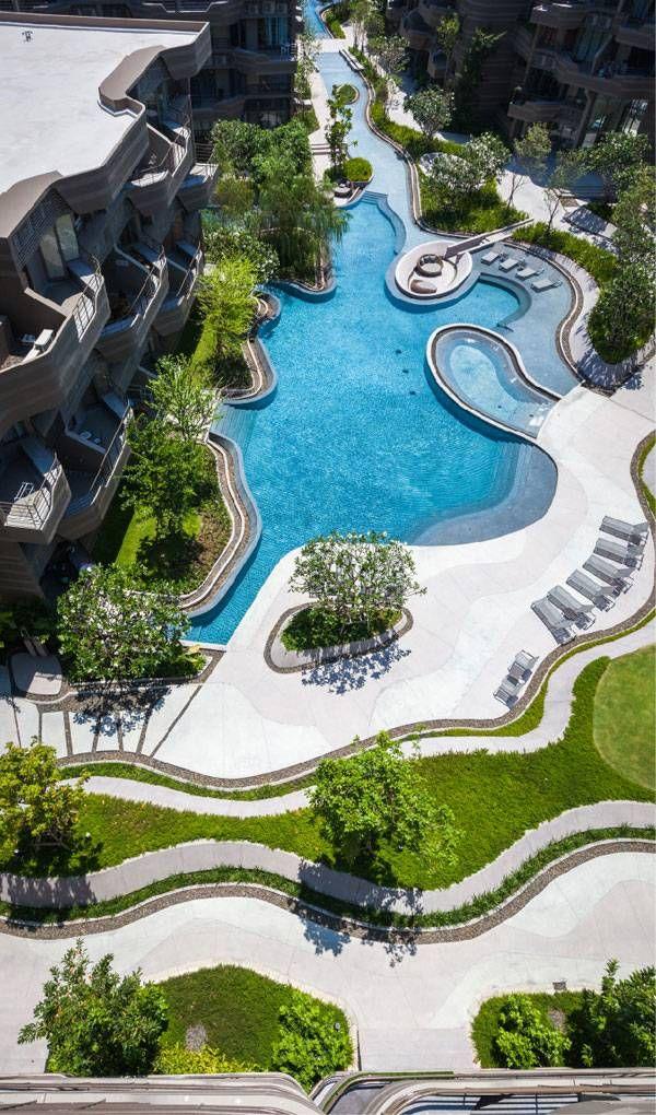 Baan San Ngam, a low-rise condominium project by Shma, in Hua Hin, Thailand.